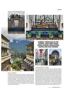Page 01 Iron Balcony, Big Building, Indigenous Tribes, A Hundred Years, Versailles, Rooftop, Mists, Facade, Terrace