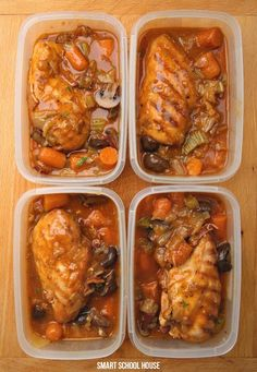 Freezing Stewed Chicken for future meals. Sometimes we have so much going on and this is always a family favoirte!