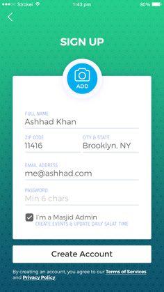 iOS mobile application design for Non profit religious organization