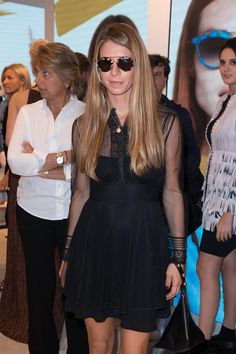 Virginia Galatieri at #THEPINKOINVASION #sunglasses collection launch event #PINKO #MFW #SS16
