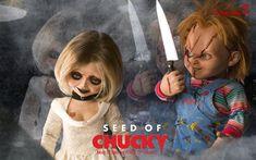 Chucky + Tiffany (Chucky: Child's Play franchise) (Tiffany: Bride of Chucky, Seed of Chucky, and Curse of Chucky)