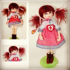 """ВитаЛинка! Автор ruma. #amigurumi #weamiguru #crochet #knitting #cute #doll #амигуруми #вязание #ручнаяработа #игрушки #куклы"""
