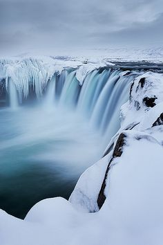 Photo via: Sarah Marino Photography Gorgeous shot of the Godafoss Waterfall in Bárðardalur, Iceland by nature and landscape photographer . Image Nature, All Nature, The Places Youll Go, Places To See, Beautiful World, Beautiful Places, Wonders Of The World, Scenery, Around The Worlds