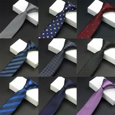 Purchase Men's Fashion Business Casual Stripes Floral Dots Print Narrow Skinny Tie Party Necktie from Bluelans on OpenSky. Share and compare all Accessories. Business Fashion, Business Casual, Skinny Ties, Floral Stripe, Jacquard Weave, Wedding Men, Silk Ties, Slim, Mens Fashion