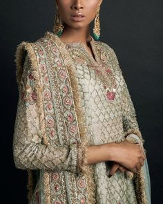~ Living a Beautiful Life ~ Zara Shahjahan Indian Dresses, Indian Outfits, Shadi Dresses, Eid Outfits, Pakistani Dresses, Pakistani Couture, Pakistani Shadi, Pakistani Wedding Outfits, Quoi Porter