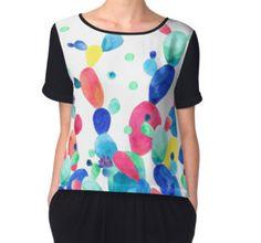Women's Chiffon Top #cacti #shirt #design #summer #women #fashion #color #fun #trendy #chic