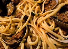 linguine with clams and chorizo linguine with clams and chorizo its ...