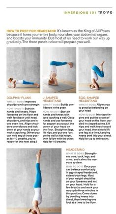 fitandhealthy4me:  Preparation for a handstand