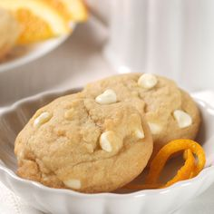 The white morsels and orange flavors in this cookie are marvelous!