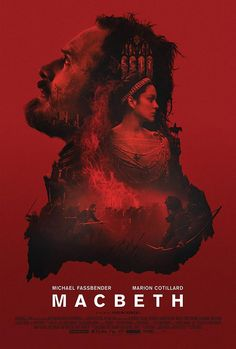Film poster for Macbeth, starring Michael Fassbender and Marion Cotillard and released October Movies And Series, Hd Movies, Film Movie, Movies To Watch, Movies Online, Movies Free, Movies 2019, Tv Series, Lady Macbeth