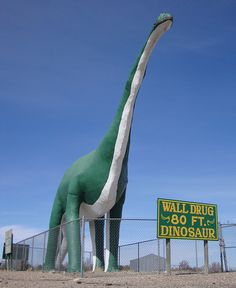 Wall Drug Dinosaur (Wall, South Dakota)