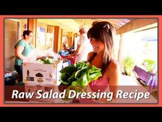 Delicious Raw Salad Dressings