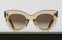 Style: Caty Sunglasses in Acetate Color: Peach 41050CPLB.20PC Season: Winter 2014. Celine.com