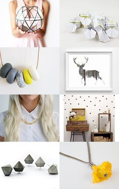 Geometrical  by Nuppi on Etsy--Pinned with TreasuryPin.com