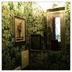 Fornasetti wallpaper 'Chiavi Segrete' from COLE & SON @ http://www.studioerikgutter.nl