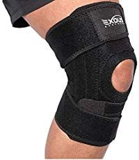 EXOUS Knee Brace Support Protector - Relieves Patella Tendonitis - Jumpers Knee Mensicus Tear - ACL Lateral & Medial Ligament Sprains Comfort Design True Non-Slip FIT for Arthritis - Sport - Running Ligament Injury, Sprain, Knee Injury, Acl Knee Brace, Anatomy Of The Knee, Arthritis, Knee Problem, Acl Tear, Massage