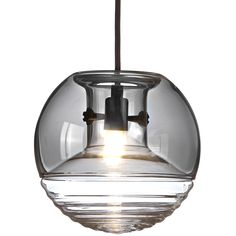 Flask Smoke hanglamp | Tom Dixon