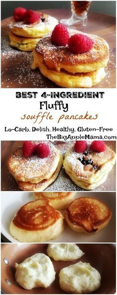 The Fluffiest Ricotta Soufflé Low Carb Pancakes – Only 4 Ingredients
