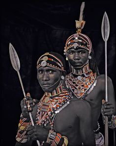 The Samburu have to relocate every 5 to 6 weeks to ensure their cattle can feed. They are independent and egalitarian people, much more traditional then the Masaai. Their society has depended on cattle and warfare for so long that they find it hard to change to a more sedentary lifestyle.