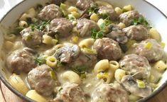 Dania jednogarnkowe - Blog z apetytem Helathy Food, Pork Recipes, Cheeseburger Chowder, Kids Meals, Potato Salad, Food And Drink, Menu, Soup, Tasty