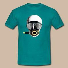 Skull (diver) - Miesten t-paita