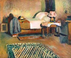 My Room in Ajaccio, 1889. By French Artist Henri Matisse