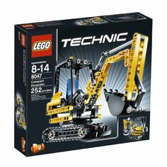 LEGO TECHNIC Mini Excavator 8047 >>> Check out the image by visiting the link.