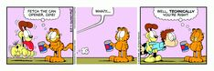 Garfield | Daily Comic Strip on November 29th, 2016