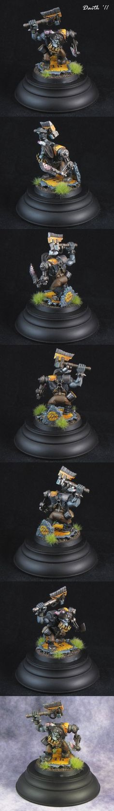 Ork Freebooter Captain by Daith