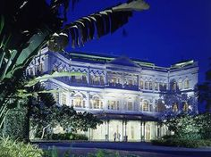 The Raffles Hotel , Singapore, is named after Sir Raffles Stamford , the founder of the Singapore city.