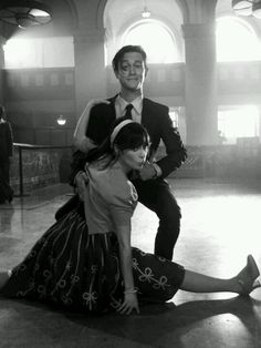 Joseph Gordon-Levitt & Zooey Deschanel. This film clip is adorable as well: 'Why Do You Let Me Stay Here?' - She & Him
