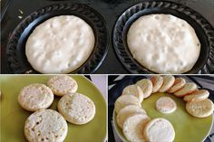 And they're SO easy! Fun Cooking, Cooking Recipes, Drink Recipes, Crumpet Recipe, Mini Pie Recipes, Baking Business, Crumpets, Mini Pies, Yummy Snacks