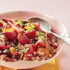 Beet, Blood Orange, Kumquat and Quinoa Salad