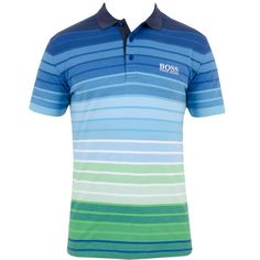 a11bc6b473 Cotton stretch polo with moisture management elements that will help your  body breath whilst on the links. Sports a fresh all over multi colour stripe  ...