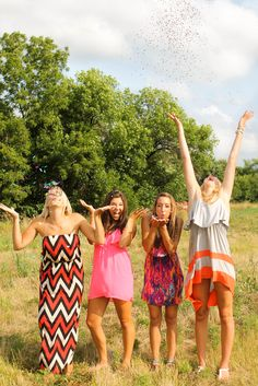 {Teen Photography} Best Friend Pictures - Confetti - 4 Best Friends