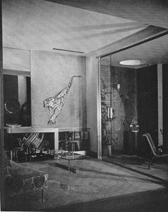 Circa 1940 interior by Neutra.
