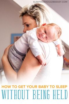 Wondering how to get your newborn to fall asleep on their own? Get real-life, applicable tips on how to get your baby to sleep without being held. Getting Baby To Sleep, Help Baby Sleep, Get Baby, Kids Sleep, Baby Kids, Baby Wont Nap, Baby Sleeping All Day, Sleeping On Back