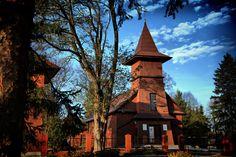 Drewniany kościółek w Wytycznie
