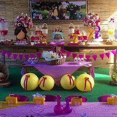 Gente eu amo masha e o urso, acho a cara da buba....hahaha  #marshaeourso #picnic #festainfantil #Repost @3d_designdefestas with @repostapp ・・・ Um Piquenique bem lúdico para a bonequinha Beatriz comemorar seu aniversário. Masha e o Urso. #picnicnaescola #festamenina #festapetit