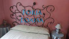 Forja Loaisa.Cabecero de cama modelo Enredadera Mural.Se construye y envian,Se pueden encargar     .forjaloaisa.es
