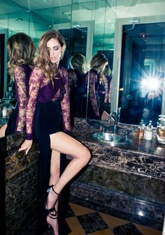 A few times already, have shared Elie Saab's wondrous fashion designs, but today will be sharing sneaks and peeks of his Parisian mansion, as toured and explored by Chiara Ferragni of The Blonde Salad, photographed by The Coveteur. Photo shoots such The Blonde Salad, Elie Saab, Fashion Week Paris, Photos Des Stars, Bollywood, Guess Girl, La Mode Masculine, Modern Princess, Fashion Blogger Style