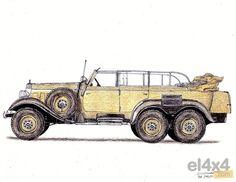 Mercedes Benz 6x6 G4 W series 31, 1934/1939 - Rally 4x4 noticias eventos foros todoterreno videos fotos dakar