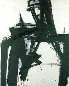 Untitled, 1957, by Franz Kline