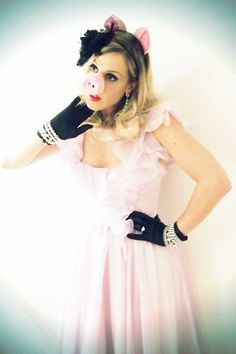 Miss Piggy Halloween Costume