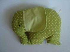 Tvarovaný polštářek - slon