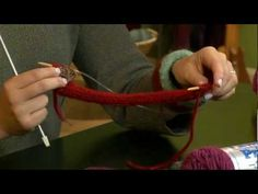 @M Kline Kandis knits and felts a Bevy of Bangles. A great last minute gift