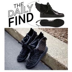 """The Daily Find: Jeremy Scott x Adidas Originals"" by polyvore-editorial on Polyvore"