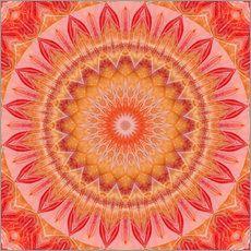 Mandala Traumwelt von Christine Bässler