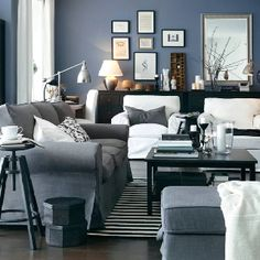 Possible Wall Color To Go With Grey Furniture Living Room Modern