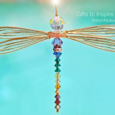 Dragonfly | Robyn Nola Inspirational Gifts, Positive Affirmation Gifts, Inspirational Quotes, Color Therapy Gifts